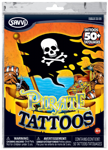 Tattoo Savvi Value Pack ~ Pirate